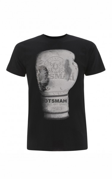 T-SHIRT BOXE - GHOST GLOVE - NOIR