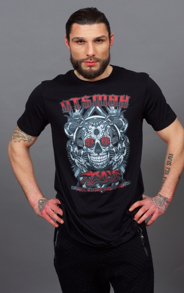 T-SHIRT FIGHT AND ROCK – DEATH'S ROSES