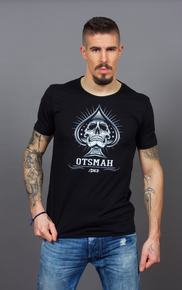 T-SHIRT FIGHT AND ROCK – PIC SKULL