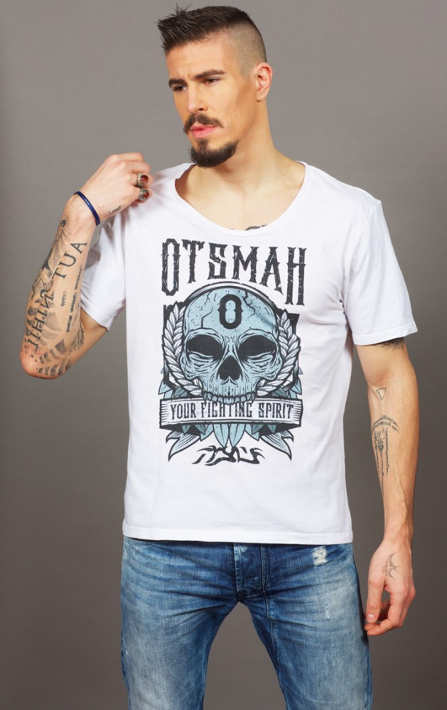 T-SHIRT FIGHT AND ROCK – SKULL FIGHT