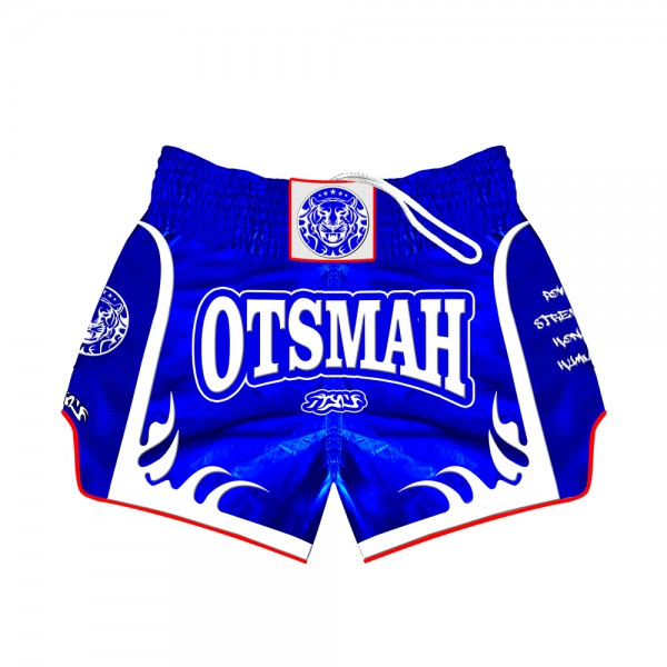 short boxe muay Otsmah blue white 5001004