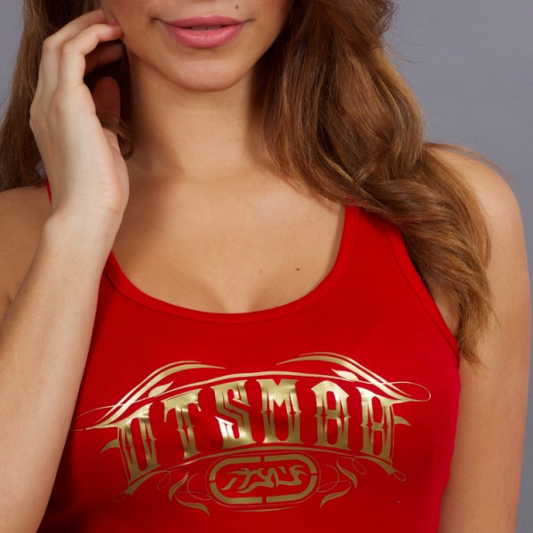 DEBARDEUR FEMME BOXE AND ROCK RED GOLD 20