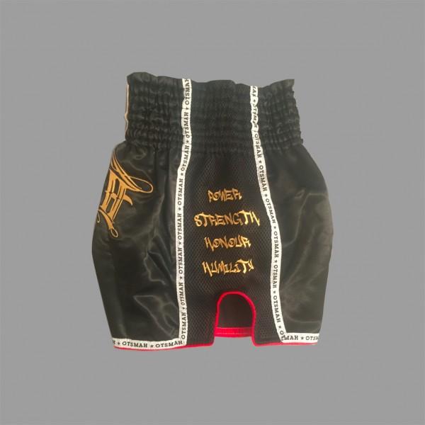 Short Boxe & Muay Black Gold 11