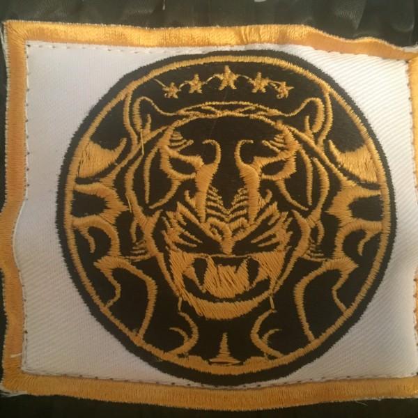 Short Boxe & Muay Black Gold 14