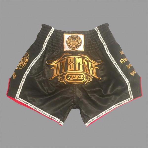 Short Boxe & Muay Black Gold 5