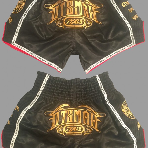 Short Boxe & Muay Black Gold 8