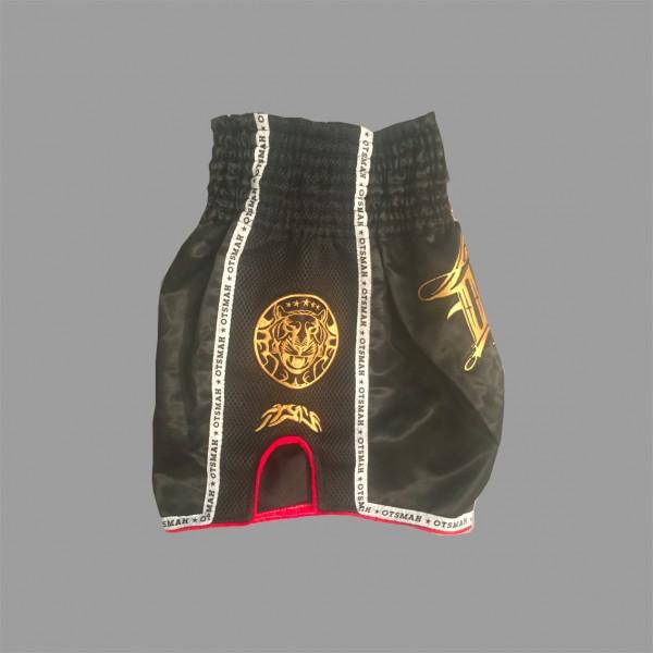 Short Boxe & Muay Black Gold 9