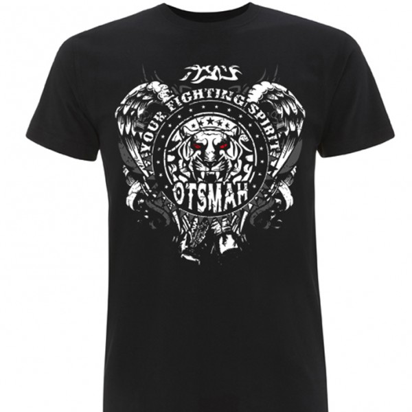 T-SHIRT BOXE AND ROCK – TIGER WINGS