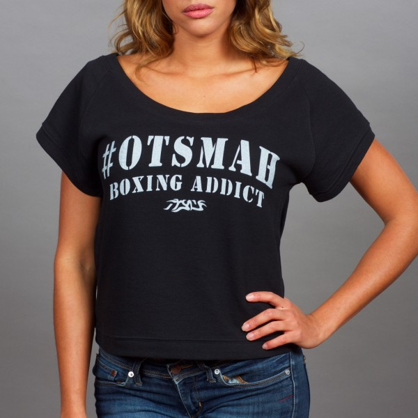 T-SHIRT COURT BOXE AND ROCK – SO SWEAT – BLACK WHITE 2